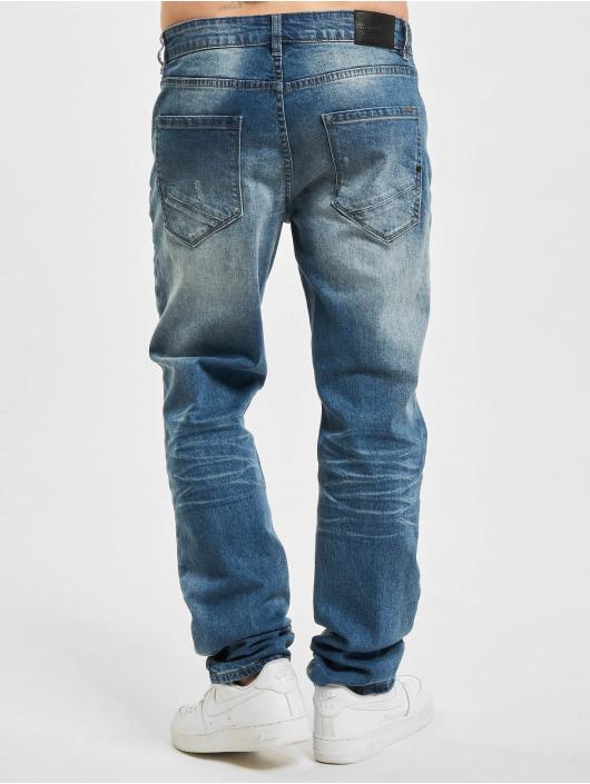 Brandit Jeans straight fit Will Denim Trouser No. 1 blu