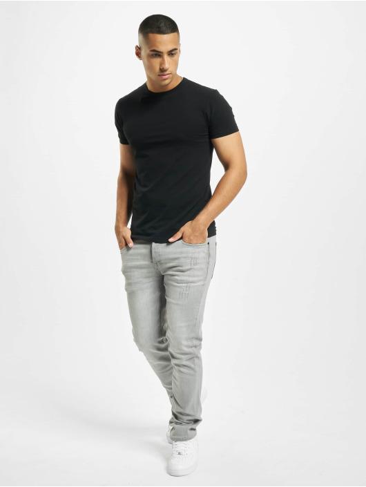 Brandit Jeans straight fit Jake grigio