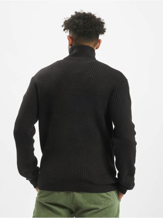 Brandit Jersey Marine Troyer negro