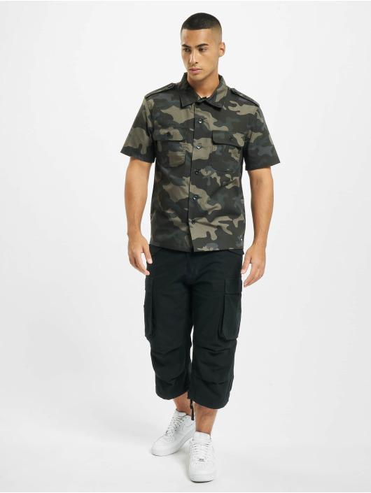 Brandit Kauluspaidat US Ripstop camouflage