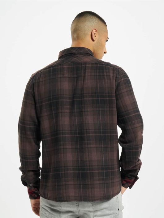 Brandit Košile Duncan Check hnědý