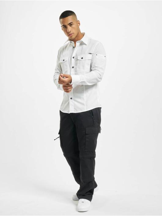 Brandit Koszule Slim bialy