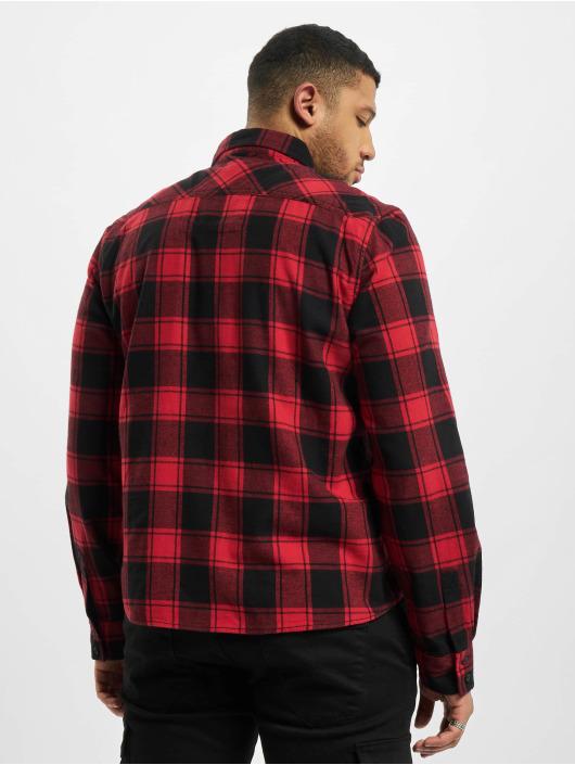 Brandit Koszule Check czerwony