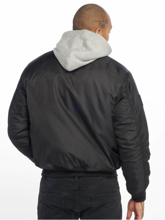 Brandit Letecká bunda MA1 Sweat čern