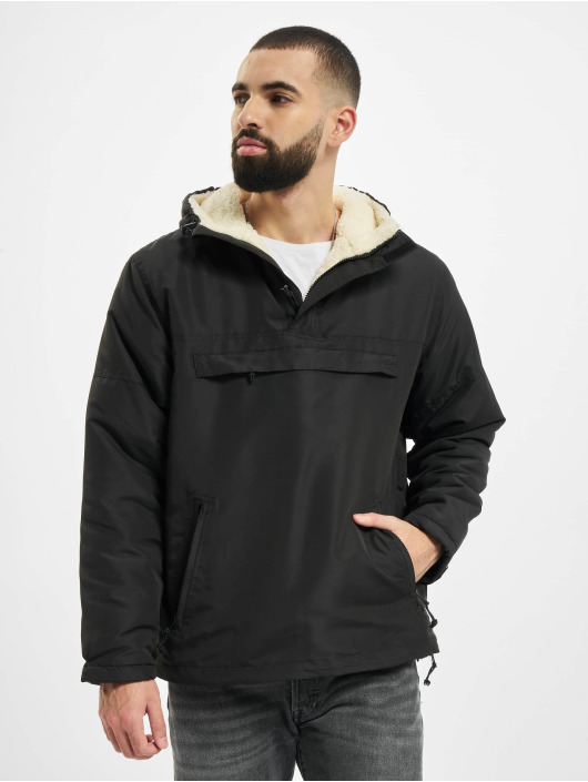 Brandit Lightweight Jacket Sherpa Windbreaker black