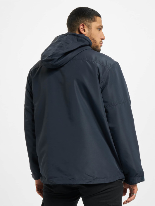 Brandit Lightweight Jacket Frontzip blue