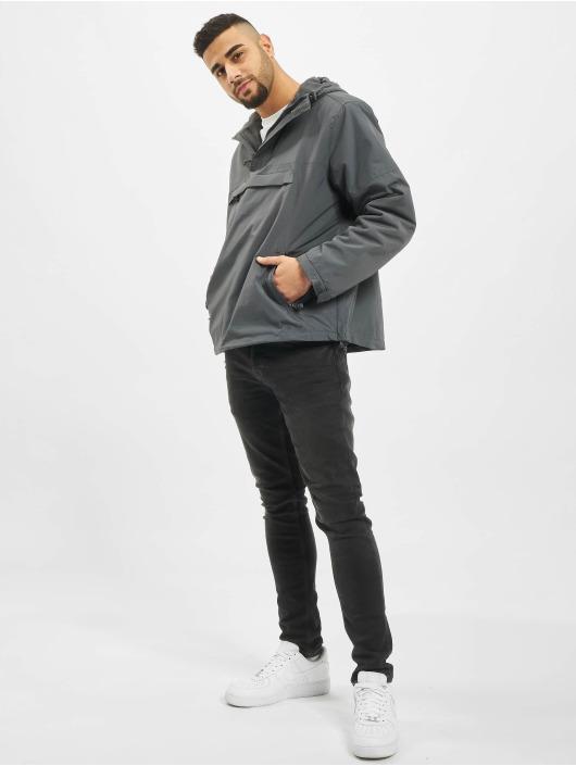 Brandit Manteau hiver Classico gris