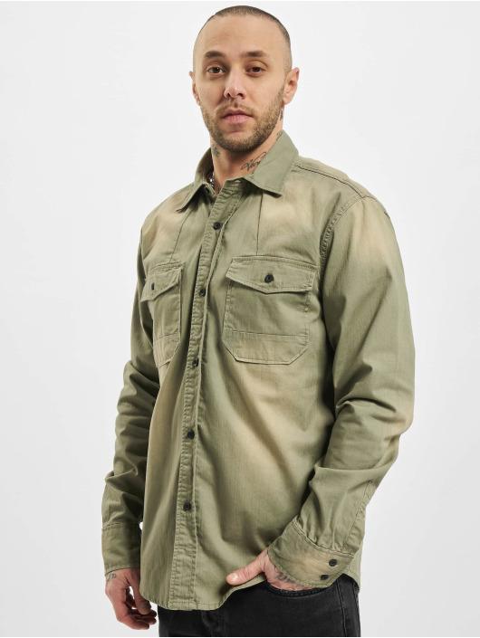 Brandit overhemd Hardee olijfgroen