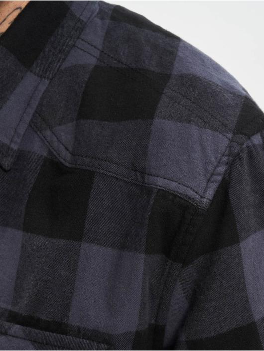 Brandit overhemd Check zwart