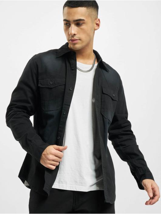 Brandit overhemd Hardee Denim zwart