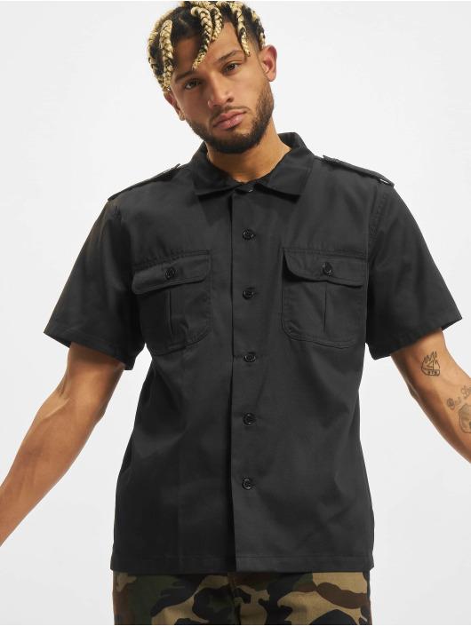 Brandit overhemd Us 1/2 zwart