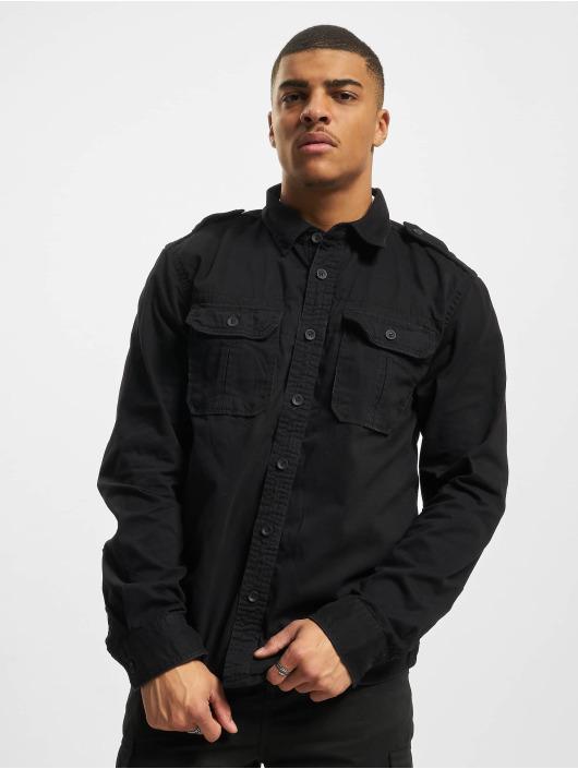 Brandit overhemd Vintage zwart