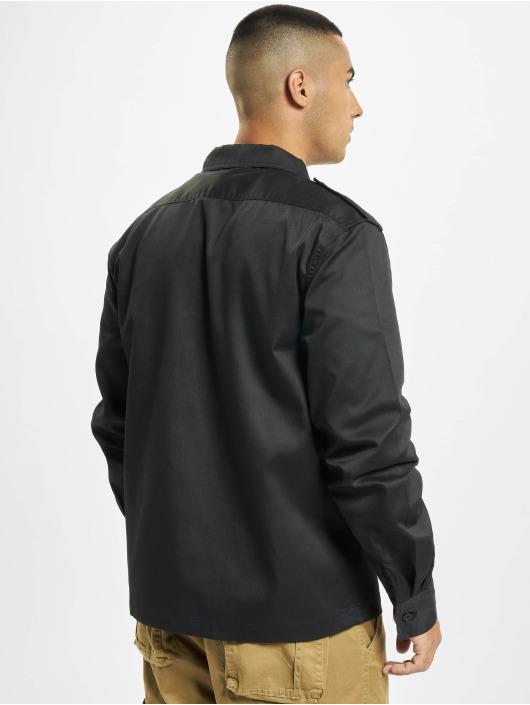 Brandit overhemd US zwart