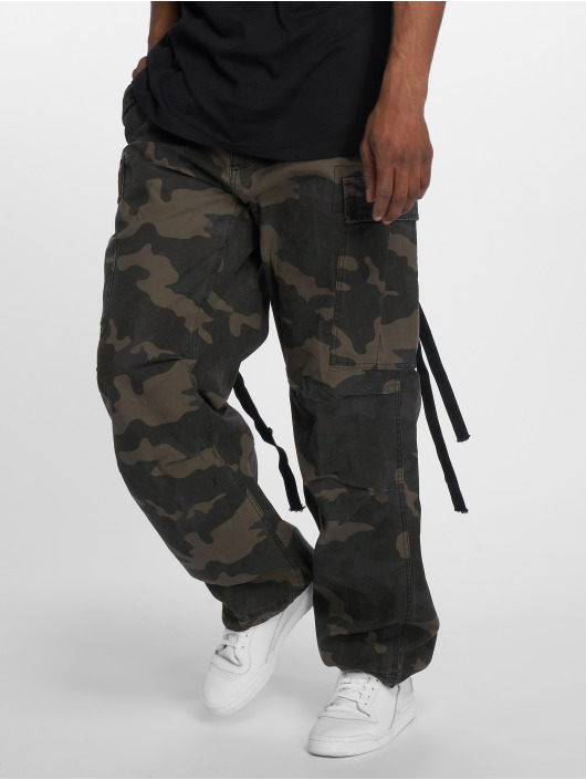 Brandit Pantalon cargo M65 Vintage camouflage