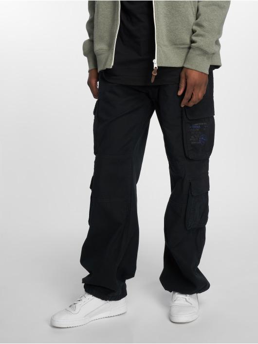 Brandit Pantalon cargo Pure Vintage noir