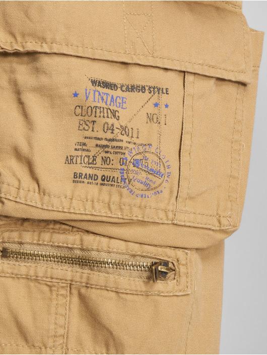 Brandit Pantalón cortos Savage Vintage beis