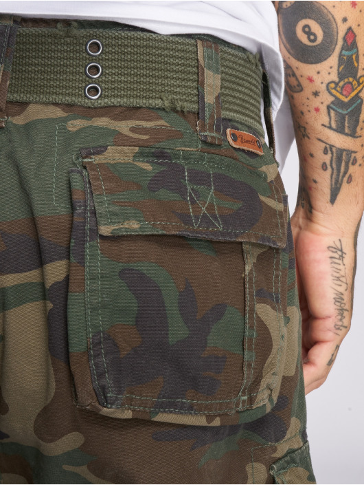 Brandit Pantalón cortos Savage Vintage camuflaje