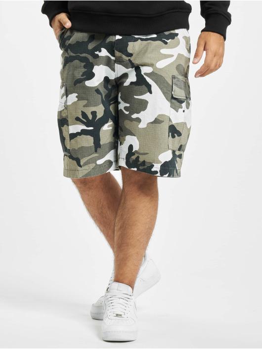 Brandit Pantalón cortos BDU Ripstop gris