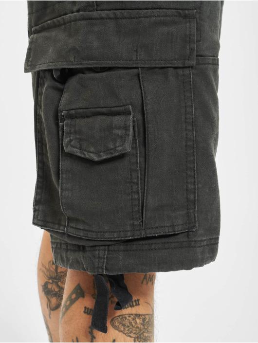 Brandit Pantalón cortos Vintage negro
