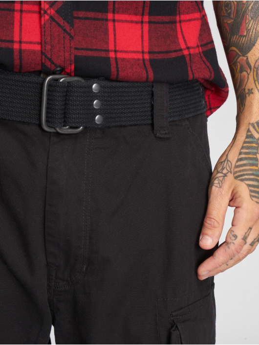 Brandit Pantalón cortos Savage Vintage negro