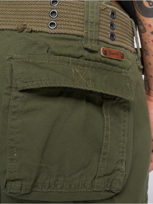 Brandit Pantalón cortos Savage Vintage oliva