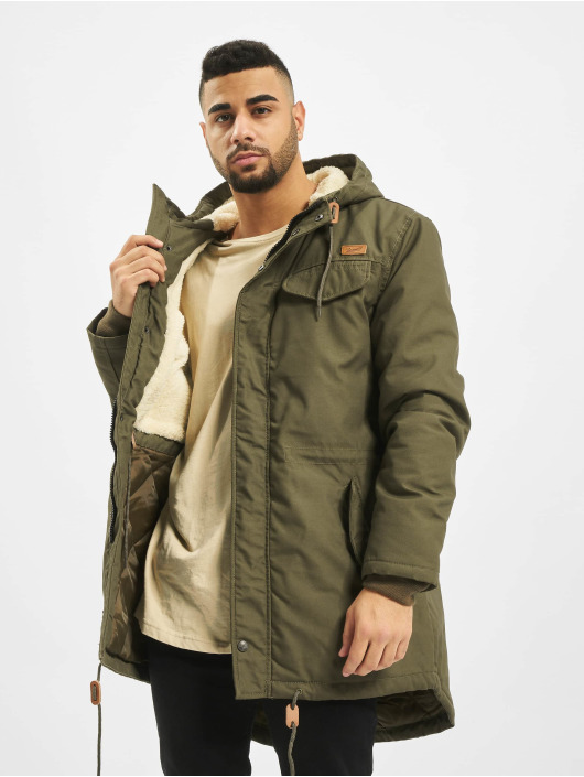 Brandit Parka Marsh Lake Men Teddy olive