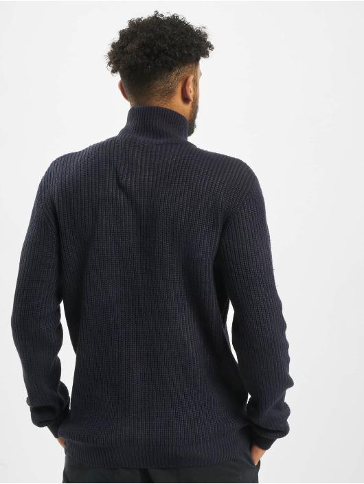 Brandit Pullover Marine Troyer blau