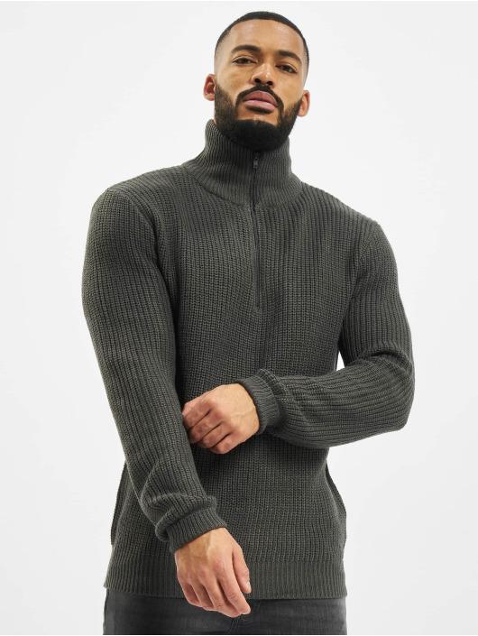 Brandit Pullover Marine Troyer grey