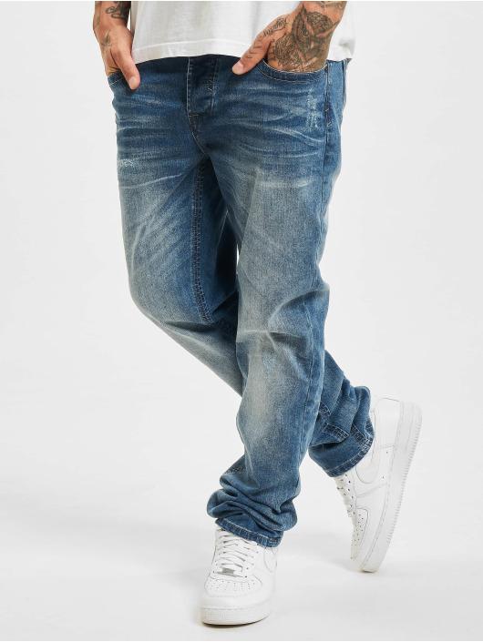 Brandit Rovné Will Denim Trouser No. 1 modrá