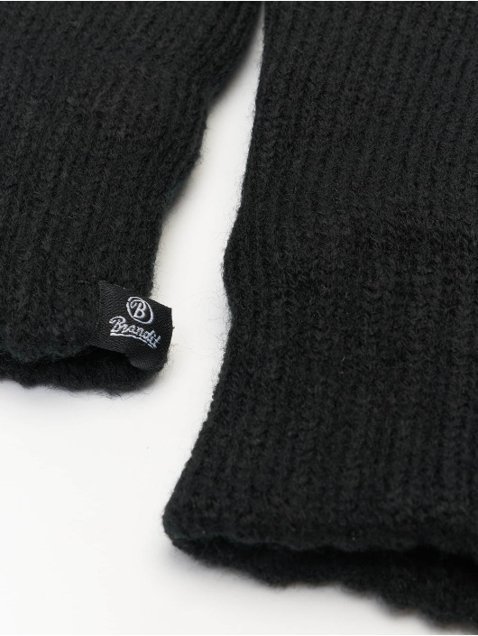 Brandit Rukavice Knitted èierna