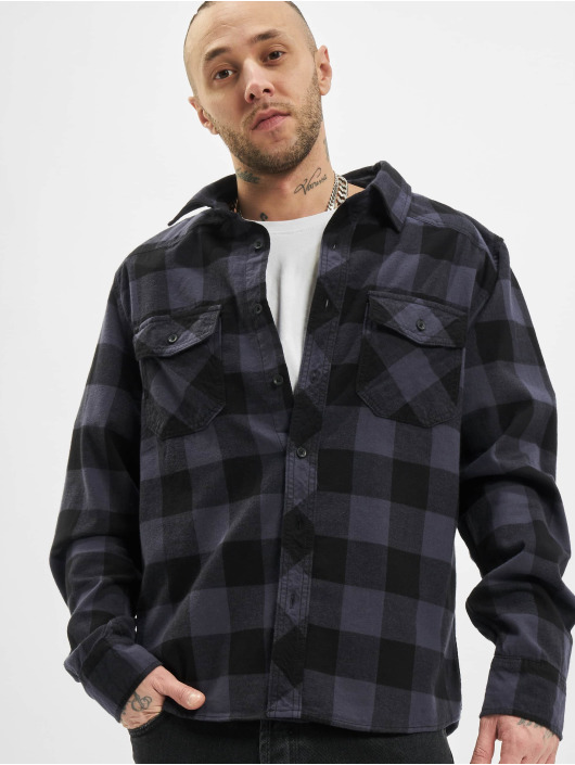 Brandit Shirt Check black