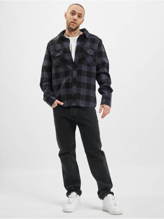 Brandit Shirt Check black