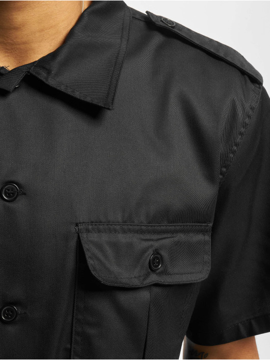 Brandit Shirt Us 1/2 black