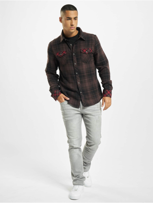 Brandit Shirt Duncan Check brown