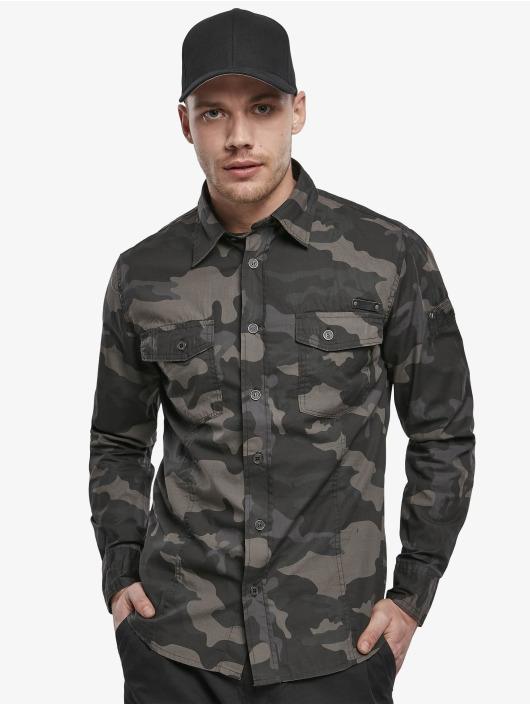 Brandit Shirt Slim camouflage