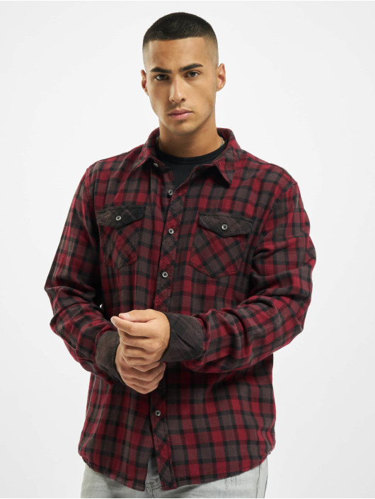 Brandit Shirt Duncan red