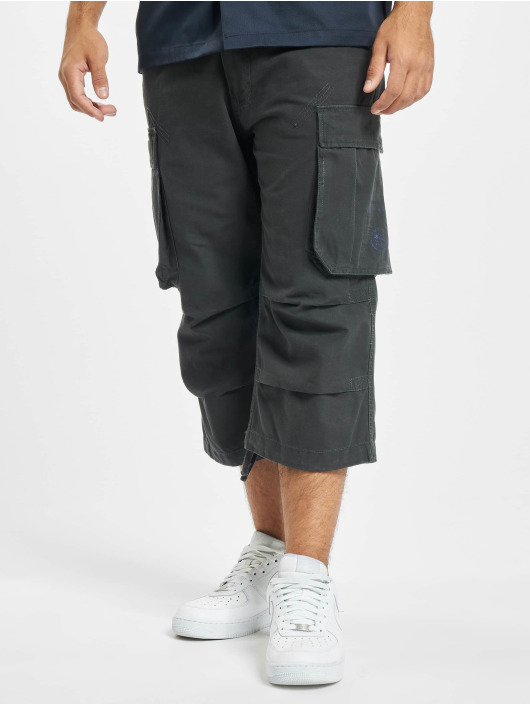 Brandit Shorts Industry Vintage 3/4 grau