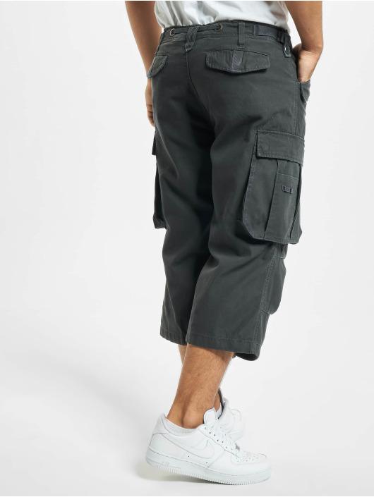 Brandit Shorts Industry Vintage 3/4 grigio