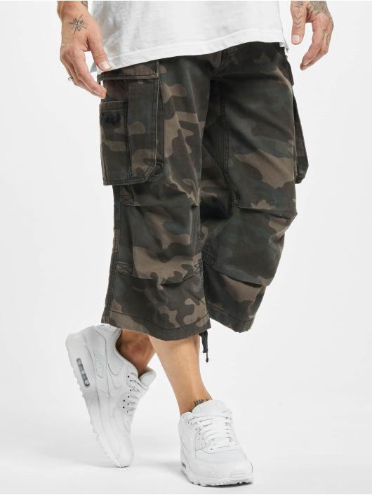 Brandit Shorts Industry Vintage 3/4 mimetico