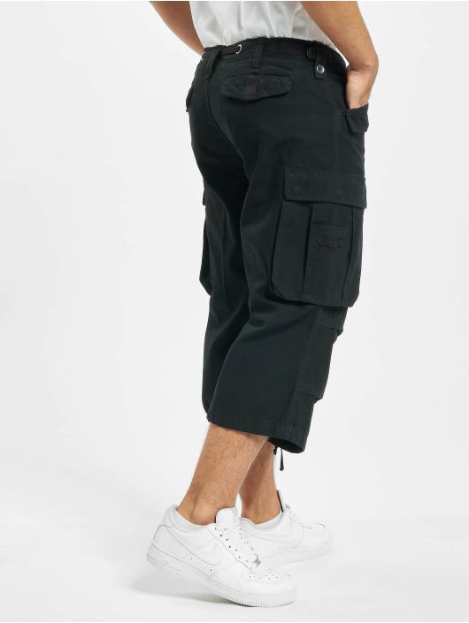 Brandit Shorts Industry Vintage 3/4 nero
