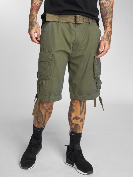 Brandit shorts Savage Vintage olijfgroen