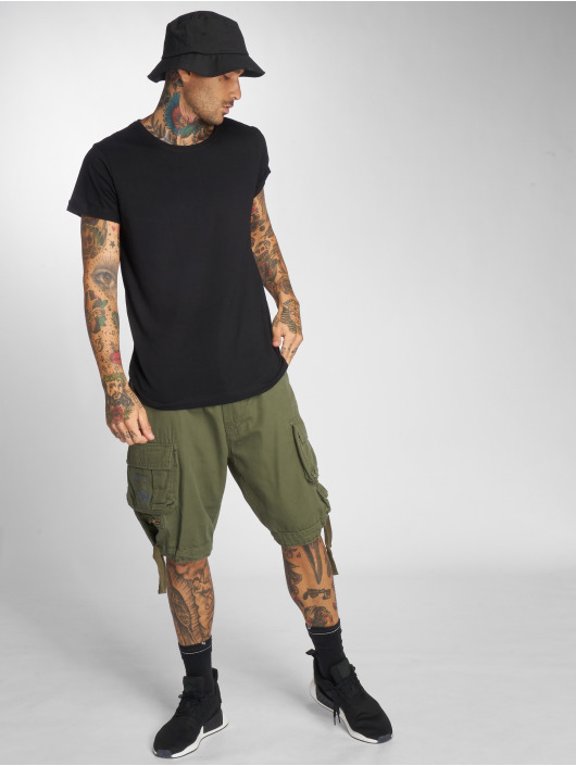 Brandit Shorts Savage Vintage oliv