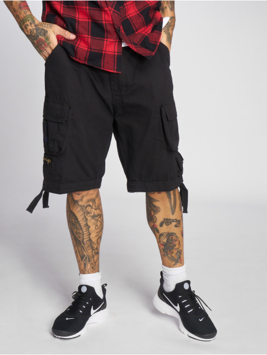 Brandit Shorts Savage Vintage schwarz