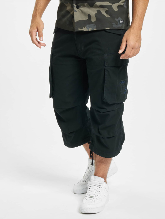 Brandit shorts Industry Vintage 3/4 zwart