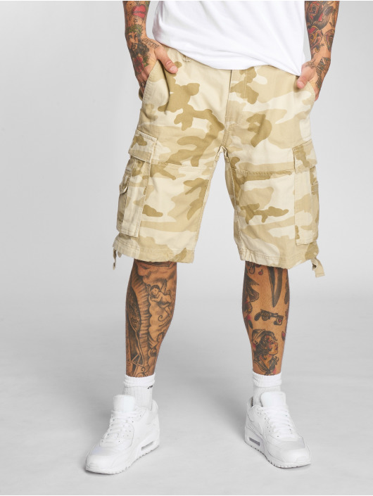 Brandit Shortsit Vintage camouflage
