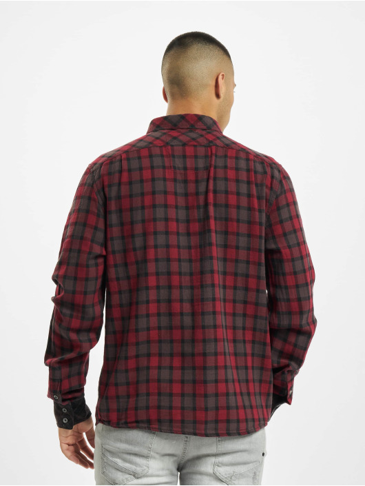 Brandit Skjorta Duncan röd