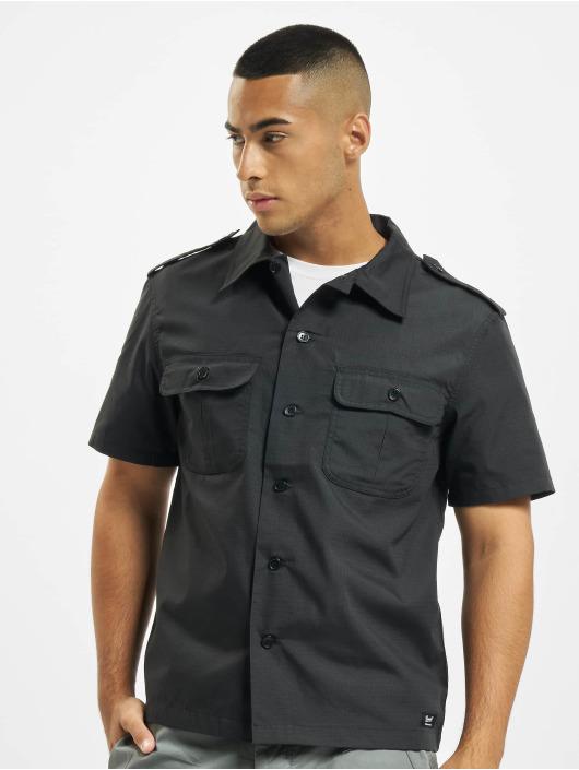 Brandit Skjorta US Ripstop svart