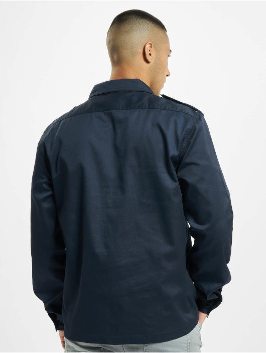 Brandit Skjorte US blå