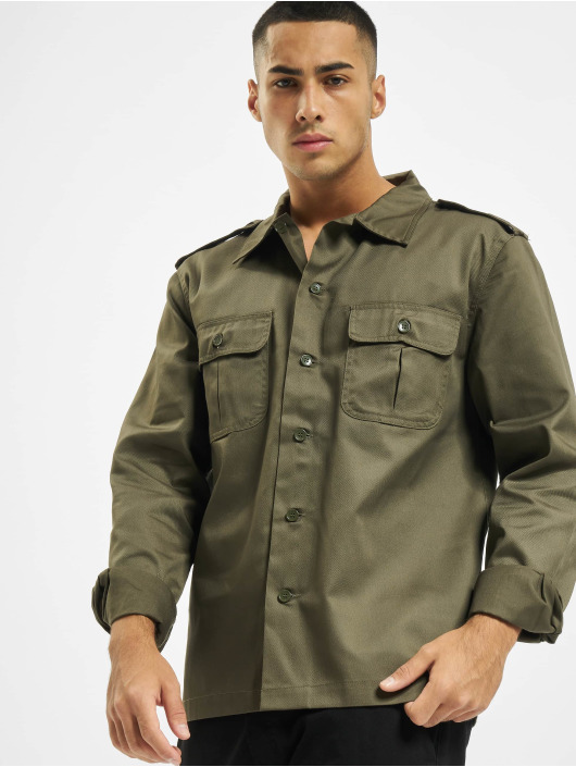 Brandit Skjorte US oliven