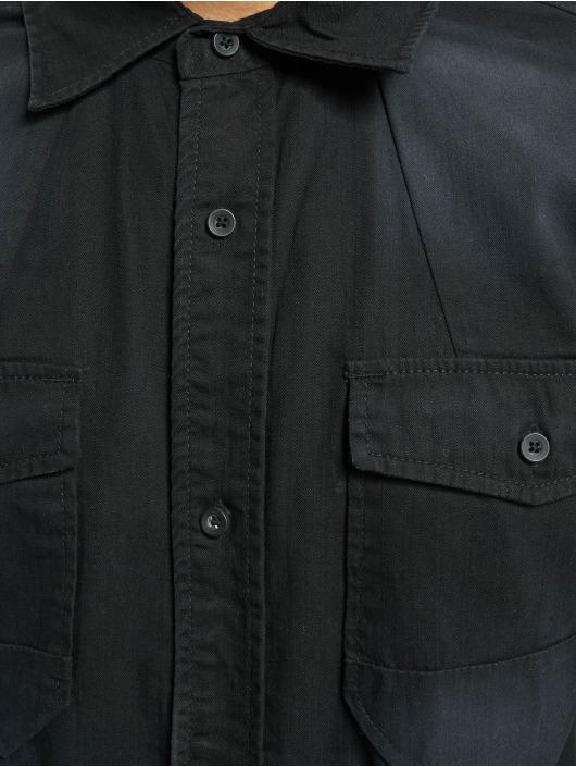 Brandit Skjorte Hardee Denim sort
